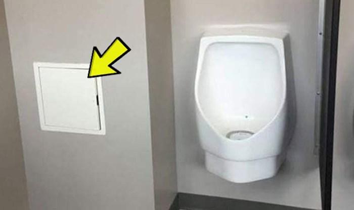 Malo tko bi pogodio što su ovdje sakrili u muškom WC-u