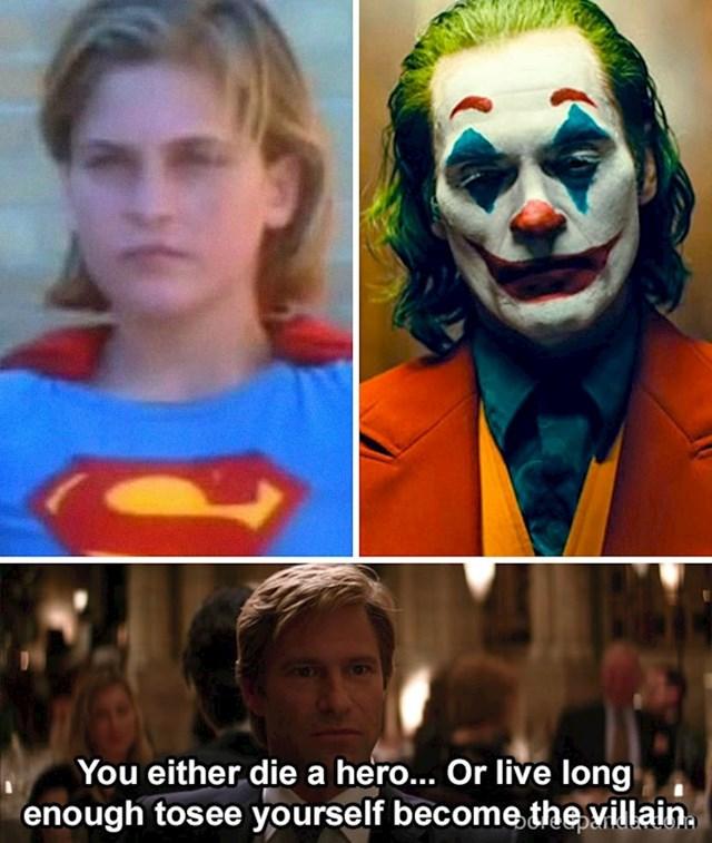 Ono kad shvatiš da je Joaquin Phoenix nekad davno glumio i Superboya...