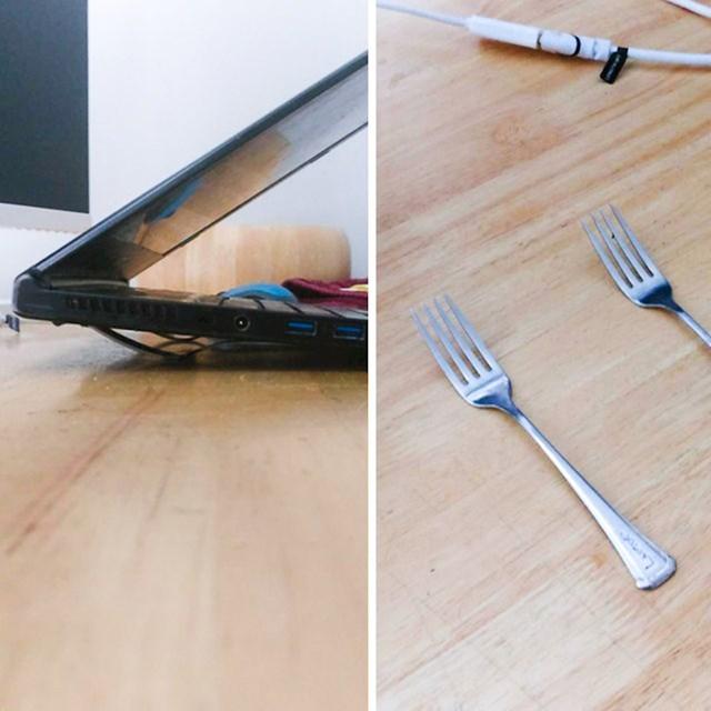 Kako hladiti laptop bez hladnjaka...