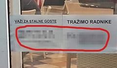 Kafić hitno treba radnike: Kad pročitate ovaj natpis, shvatit ćete da je situacija ozbiljna