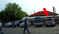 Izlazio je iz parkirnog mjesta, a onda mu se dogodila nevjerojatno glupa nezgoda