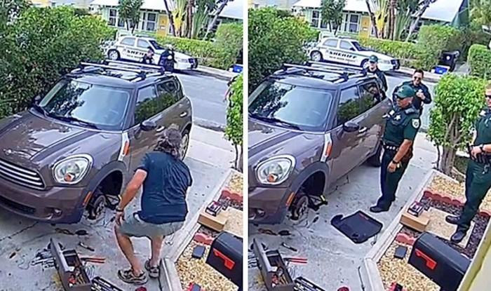 Čovjeka je posjetila policija jer je njegova papiga zvala upomoć i zabrinula susjeda