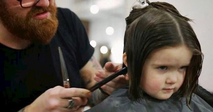 VIDEO Klinkin posjet frizeru oduševio je javnost kad su saznali zbog čega zapravo dolazi