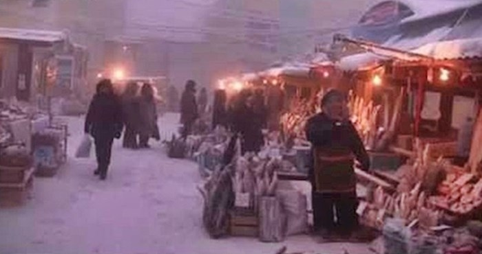 VIDEO Radujete se božićnom vremenu i zimi? Pogledajte kako Rusi žive na -46°C