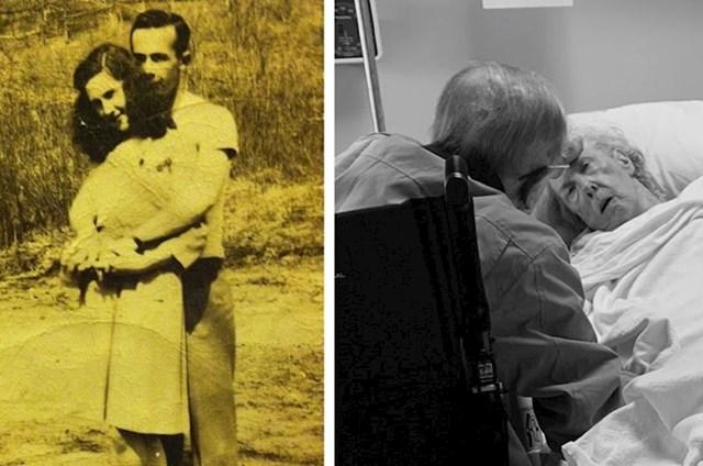 """""""Moja baka i djed u 67 godina braka nikad nisu proveli noć jedno bez drugog. Ni bolesti ih nisu mogle razdvojiti. Nadam se da ću i ja naći ovakvu ljubav."""""""