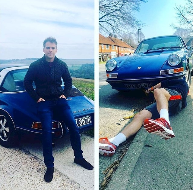 Prednosti fotografija: Nitko ne zna da je Porsche tuđi... ili da je pokvaren.