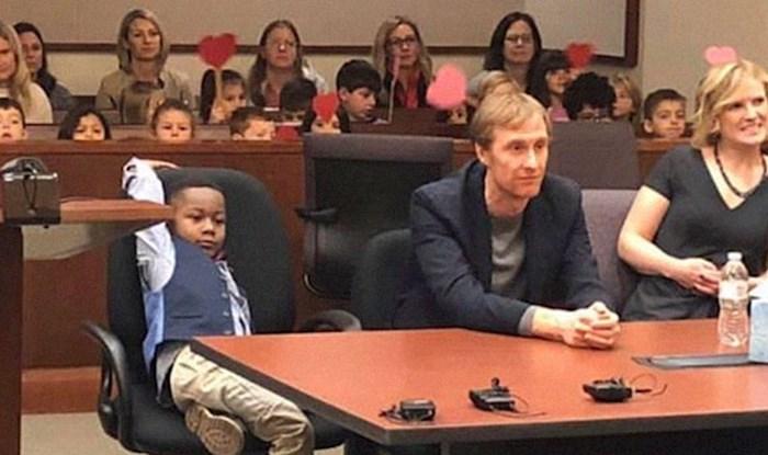 Ovom dječačiću je cijeli razred iz vrtića došao na suđenje, a razlog je prekrasan