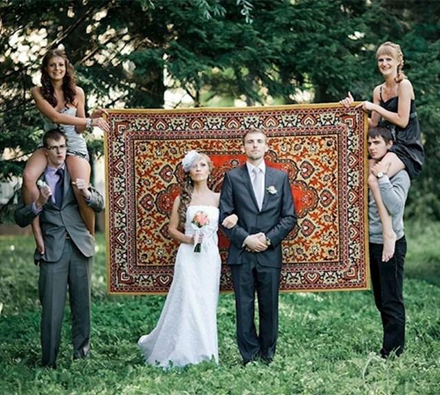 U Rusiji je tepih dio tradicije.