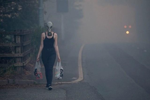 """""""U blizini moje kuće je bio veliki požar, no morala sam u kupovinu..."""""""