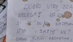 Ujutro ga je dočekala čudna poruka, prijatelj mu je napisao što se dogodilo