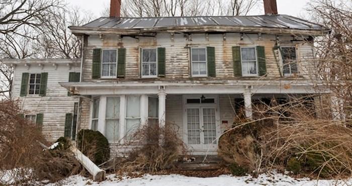 Slučajno je otkrio napuštenu kuću pa ušao u nju, bio je impresioniran onim što je našao unutra