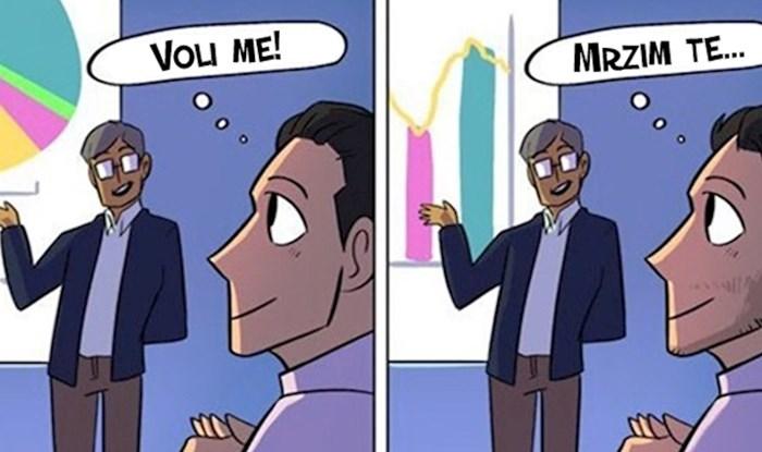Ovaj strip pokazuje koliko se radnikov odnos prema poslu promijeni u prvih 100 dana