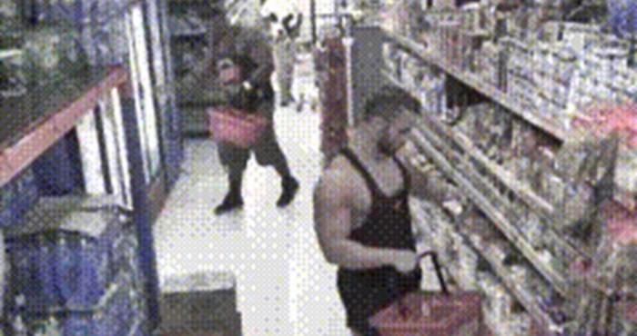 Čudaci su iskoristili priliku kako bi u supermarketu snimili bizaran video