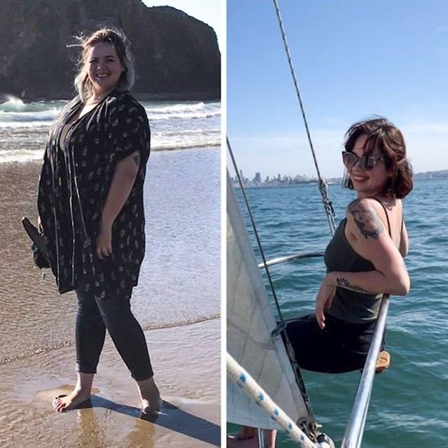 """""""Skinula sam 45 kg u 2 godine! Nikad nisam bila ponosnija na sebe."""""""