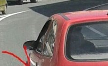Vozač iz Dalmacije je na drugom automobilu vidio detalj koji ga je odmah nasmijao