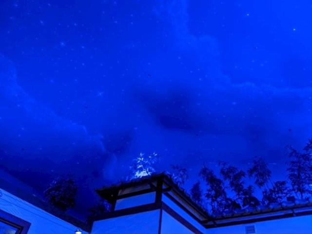 """""""Plafon u ovom restoranu dizajniran je tako da izgleda kao noćno nebo."""""""