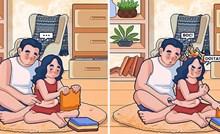 Simpatične ilustracije koje pokazuju što se događa u gotovo svakoj ljubavnoj vezi ili braku