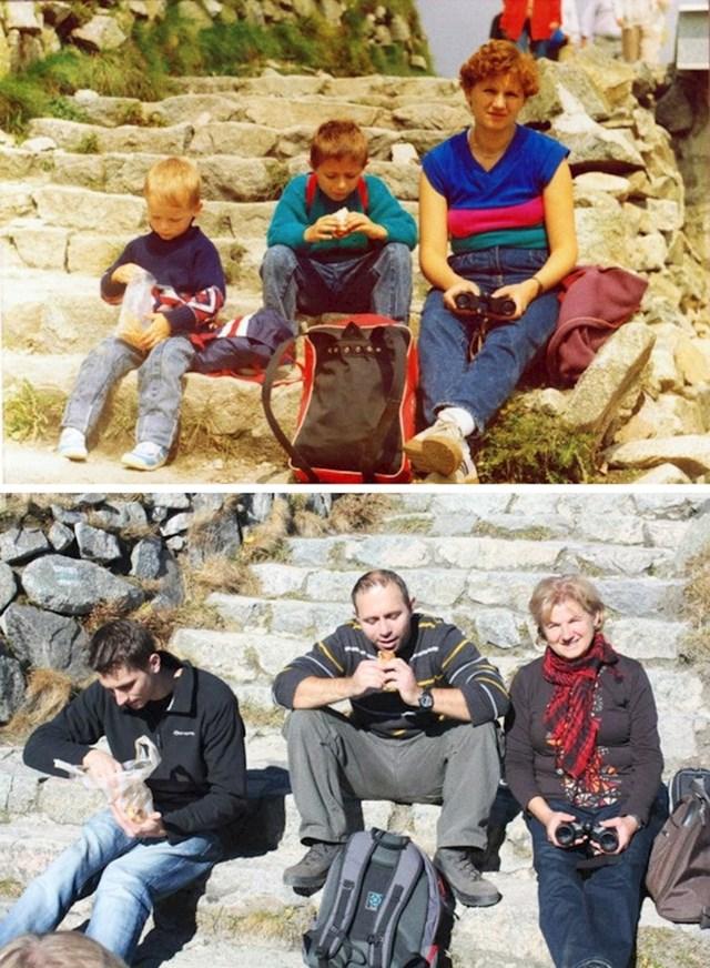 """""""Druga fotografija slikana je 23 godine nakon prve."""""""