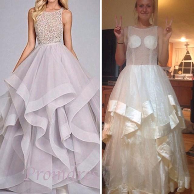 Približavala se maturalna večer pa je naručila haljinu preko interneta. Nije to bila dobra odluka.