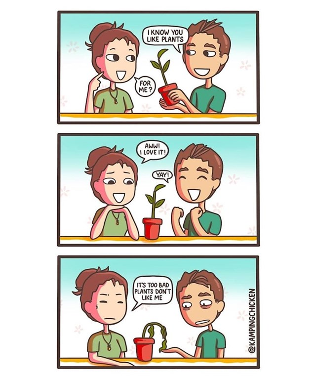 """""""Volim ja biljke, ali one mene ne vole..."""""""