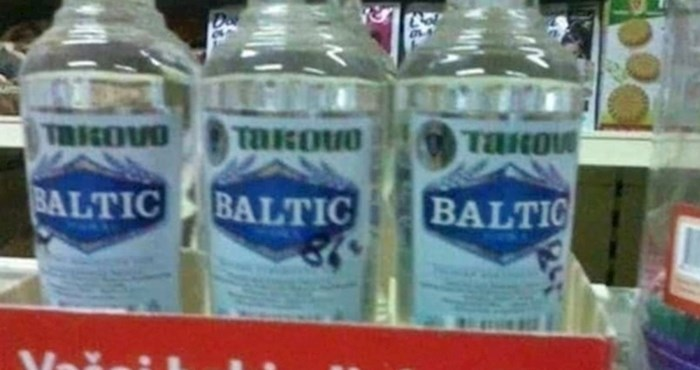 Kupac je u supermarketu slikao bizaran natpis ispod žestokih pića