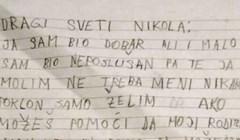 Dijete je Svetom Nikoli napisalo iskreno pismo koje je rasplakalo društvene mreže