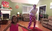 VIDEO Djevojčica je počela plesati, a onda joj se pridružio tata i osvojio internet