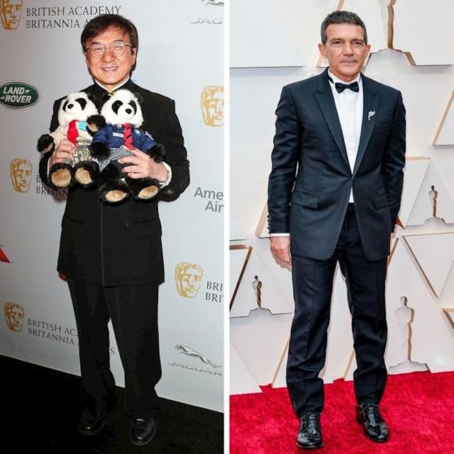 Jackie Chan i Antonio Banderas - 174 cm
