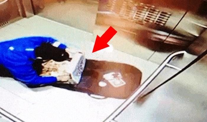 Kamera u liftu snimila je nešto što je trebala ostati tajna