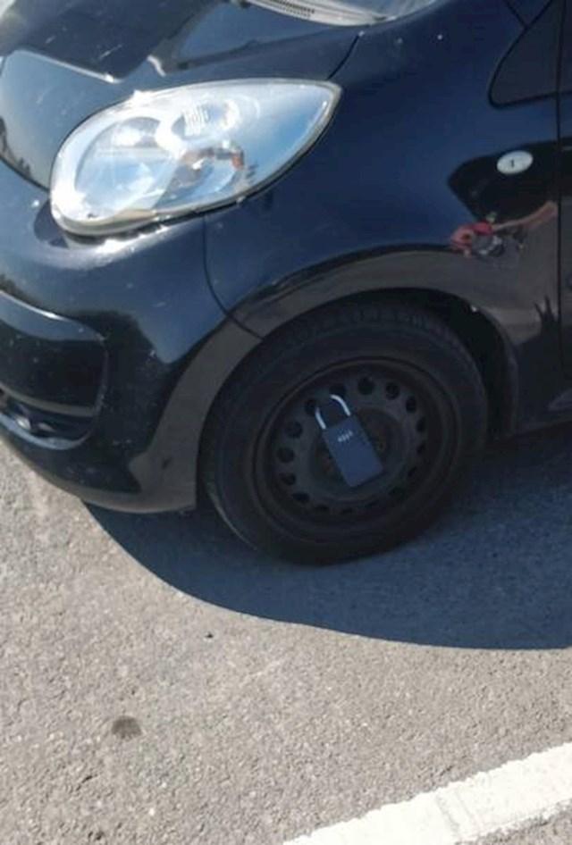 Kako zaključati auto u nesigurnim kvartovima