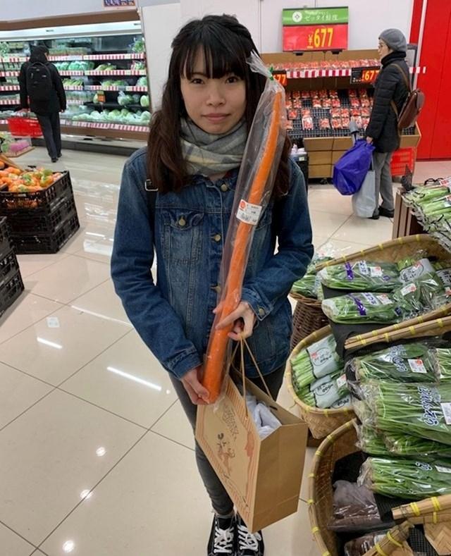 """""""Bio sam u Japanu i slikao nešto zanimljivo u jednom supermarketu. Iznenadile su me njihove mrkve."""""""