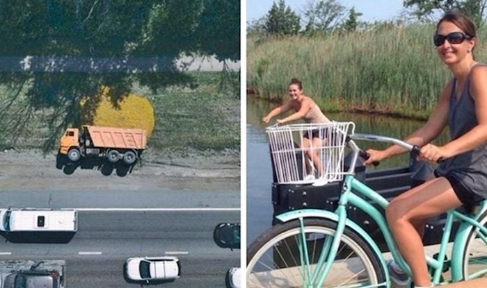 Ove fotke dokazuju da je svijet ponekad zanimljiviji kad ga slikaju iz druge perspektive