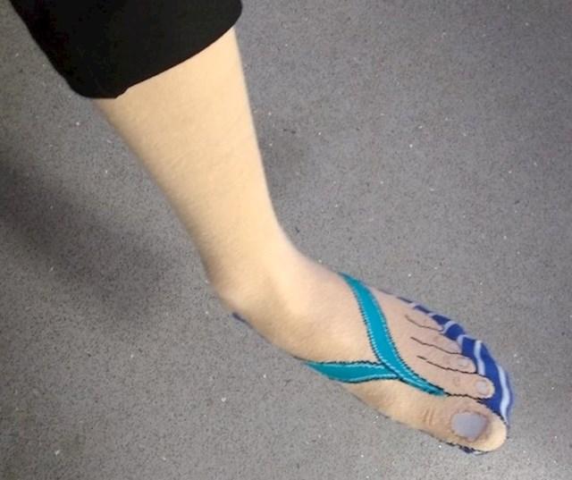 Japanke ili čarape? Pogledajte malo bolje...