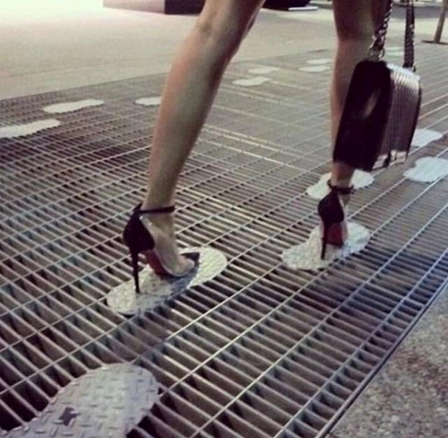 Žene u štiklama će biti jako zahvalne ako se ovako nešto postavi u svim gradovima.