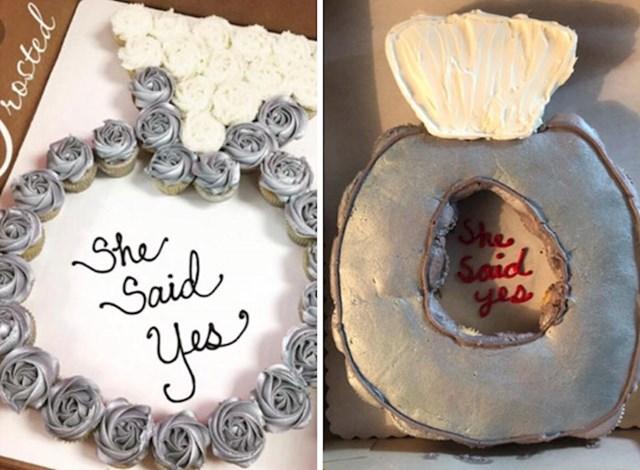 Ova ručno izrađena torta je izgledala užasno.