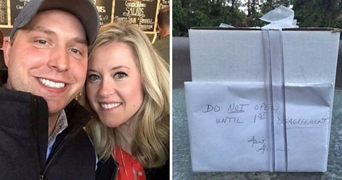"""Devet godina nakon vjenčanja otvorili su """"zabranjeni poklon"""" i saznali što se u njemu krilo"""