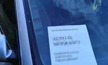 Vlasnik auta je radnicima parkinga ostavio neobičnu poruku koja ih je ipak nasmijala