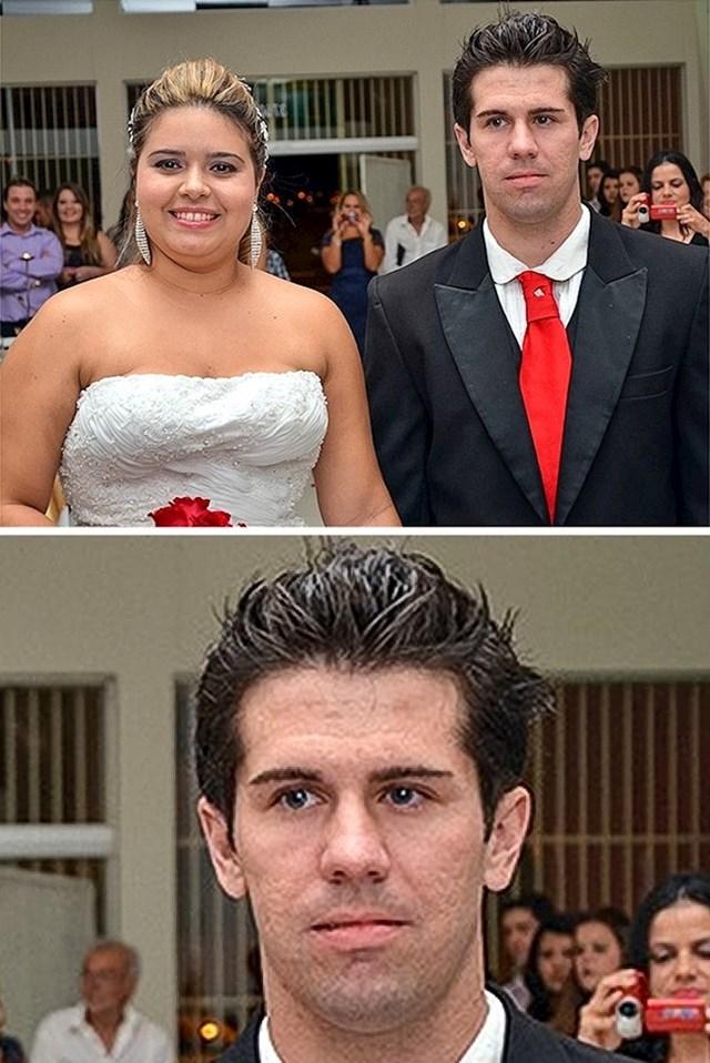 """Sama je isplanirala i organizirala vjenčanje pa """"iznenadila"""" dečka. Stvarno je izgledao iznenađeno."""