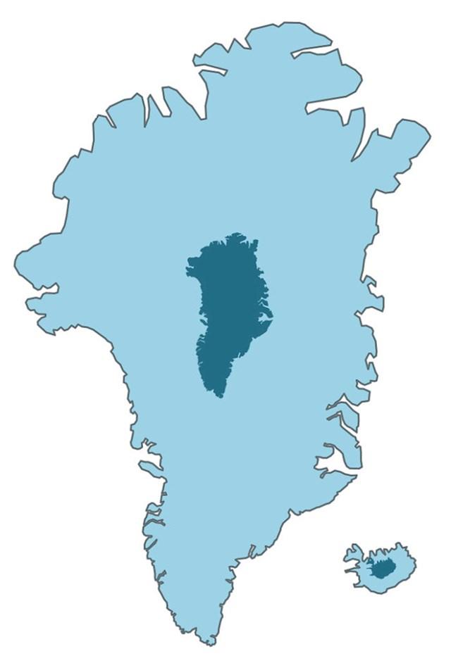 Grenland i Island