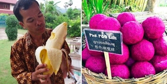 15 zanimljivih stvari koje možete vidjeti vjerojatno samo na Tajlandu