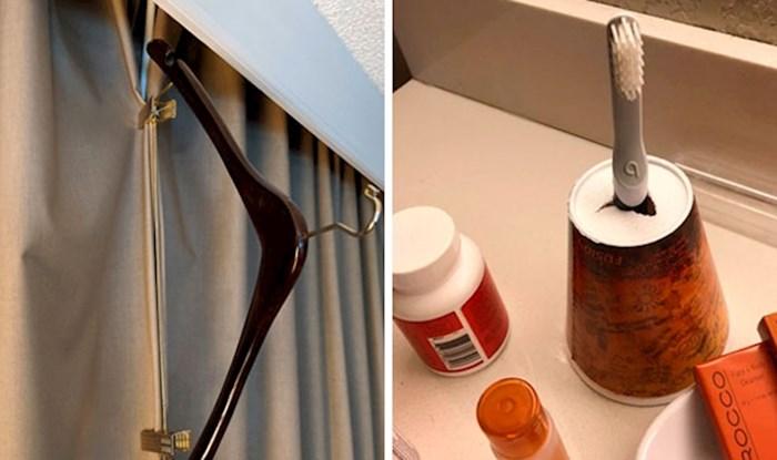 Ljudi su smislili zanimljiva rješenja za problematične hotelske sobe, ove stvari svatko mora znati