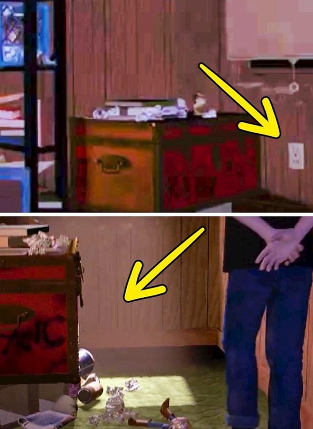 Priča o igračkama: Utičnica u Sidovoj kući odjednom nestaje.