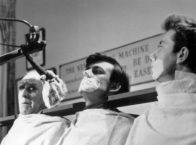 Stroj za grupno brijanje, 1960. godina