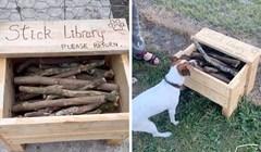 VIDEO Tati je pala na pamet genijalna ideja, pogledajte što je napravio za obližnji park za pse