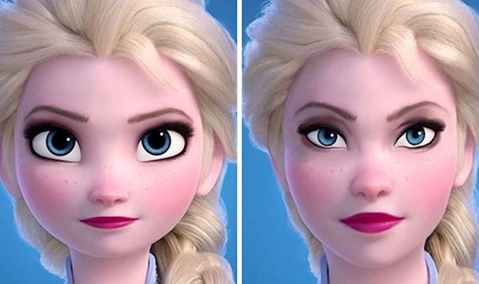 Umjetnica je otkrila kako bi likovi iz crtića izgledali s realističnim proporcijama