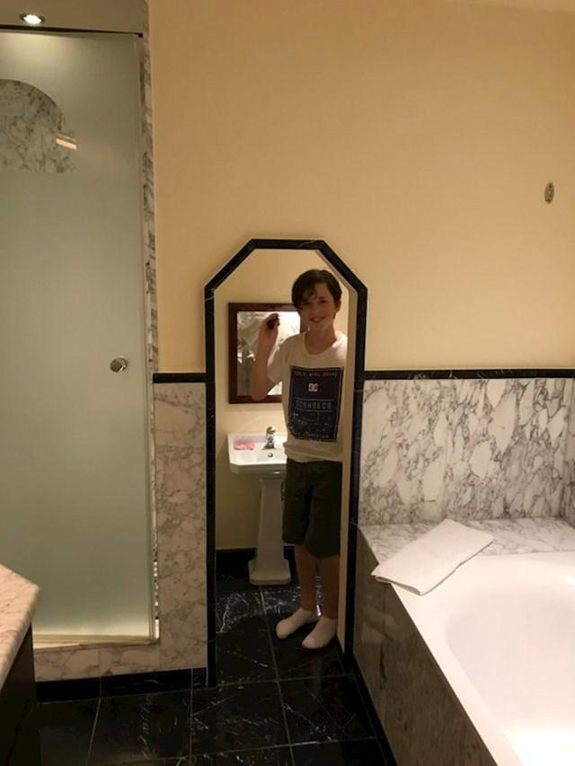 Ovaj hotel u Njemačkoj ima mini kupaonice za djecu.