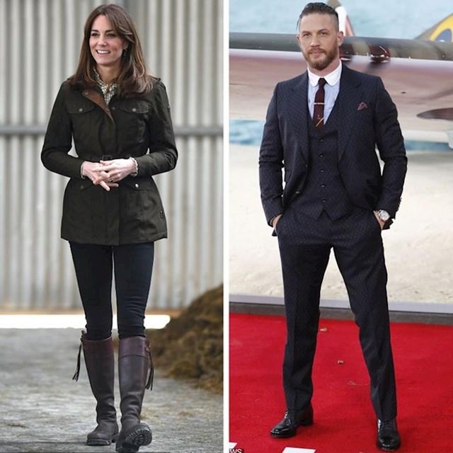 Kate Middleton i Tom Hardy - 175 cm