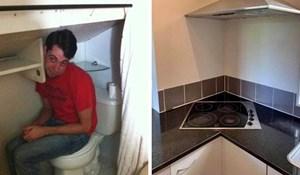25 smiješnih građevinskih promašaja i katastrofalnih uređenja koja nisu mogla proći neprimijećeno