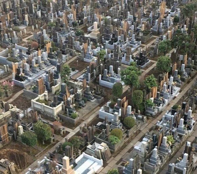 Ovo groblje izdaleka izgleda kao maketa nekog velegrada.