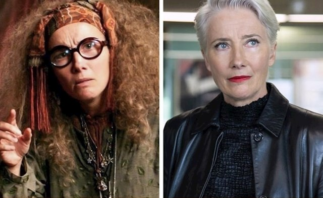Professor Trelawney (Emma Thompson)